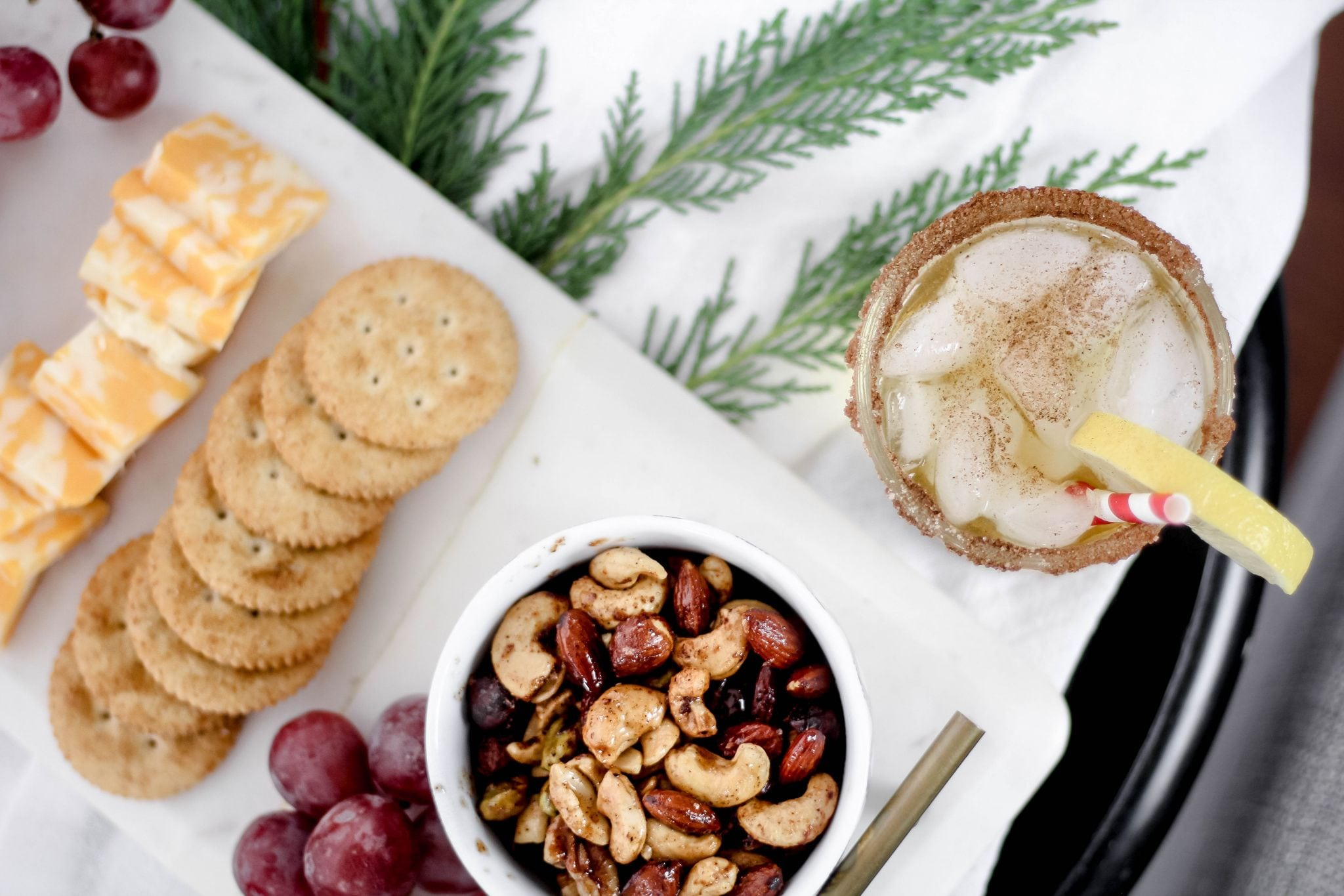 Hosting a Holiday Soiree with Planters Peanuts